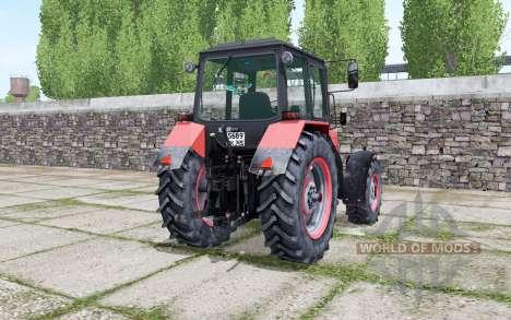 MTZ-1221 Biélorussie avec une animation de pièces pour Farming Simulator 2017
