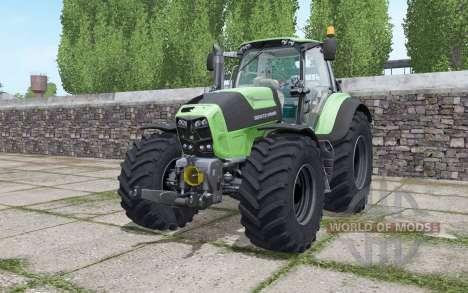 Deutz-Fahr Agrotron 7210 TTV Goodyear tyres pour Farming Simulator 2017