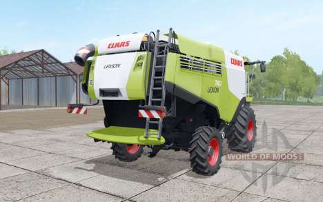 Claas Lexion 740 yellow-green pour Farming Simulator 2017