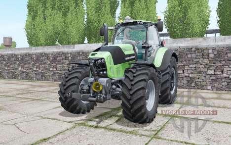 Deutz-Fahr Agrotron 7250 TTV design selection pour Farming Simulator 2017