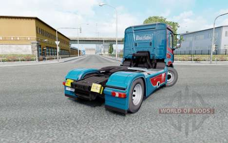 Mercedes-Benz Antos 1840 2012 Kings Customs pour Euro Truck Simulator 2