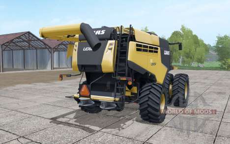 Claas Lexion 760 North America pour Farming Simulator 2017