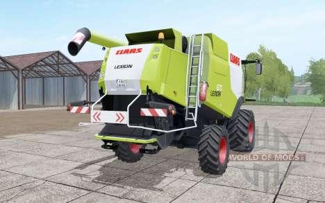 Claas Lexion 670 4x4 pour Farming Simulator 2017
