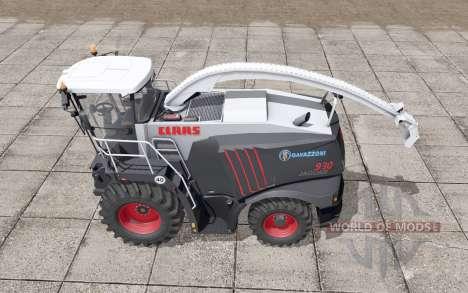 Claas Jaguar 930 Gavazzoni Black pour Farming Simulator 2017