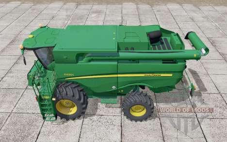 John Deere S690i moving elements pour Farming Simulator 2017