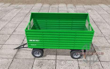 Conow HW 80 V5.1 lime green pour Farming Simulator 2017