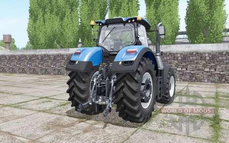 New Holland T7.290 Heavy Duty bright blue pour Farming Simulator 2017