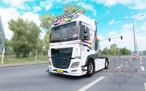 DAF XF Super Space Cab Jelle Schouwstra v1.1 pour Euro Truck Simulator 2
