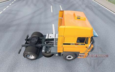 DAF 2800 Space Cab v1.1 pour Euro Truck Simulator 2