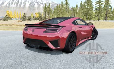Honda NSX 2016 pour BeamNG Drive