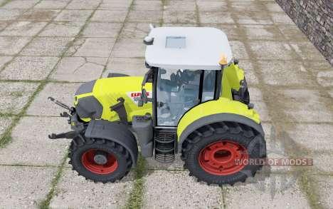 Claas Arion 650 loader montieren pour Farming Simulator 2017