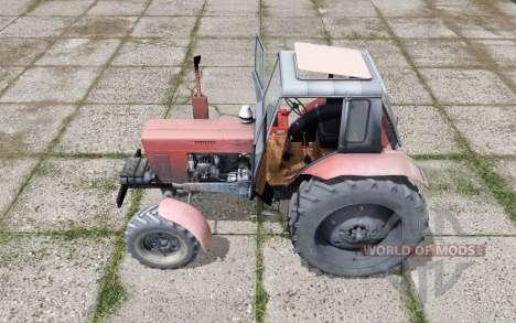MTZ 82 Biélorussie, avec un choix de configurations pour Farming Simulator 2017