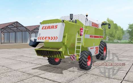 Claas Dominator 208 Mega interactive control pour Farming Simulator 2017