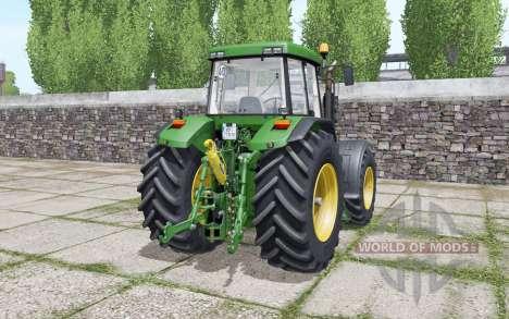 John Deere 7710 Michelin tires pour Farming Simulator 2017