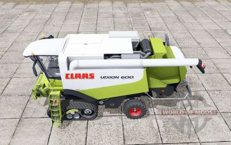 Claas Lexion 600 crawler pour Farming Simulator 2017