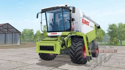 Claas Lexion 580 green and white pour Farming Simulator 2017
