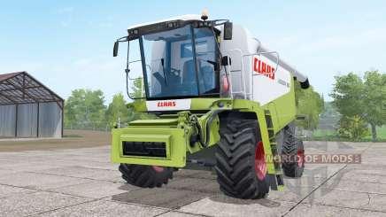 Claas Lexion 580 green and white pour Farming Simulator 2017