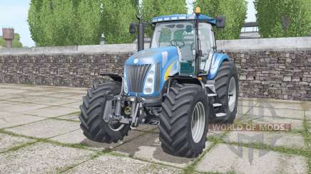 New Holland TG285 moving elements pour Farming Simulator 2017