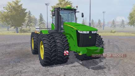 John Deere 9560R double wheels pour Farming Simulator 2013