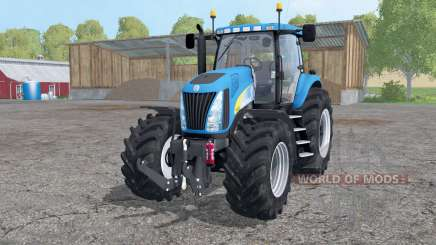 New Holland TG 285 wheels weights pour Farming Simulator 2015