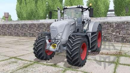Fendt 822 Vario tires Michelin AxioBib 2 pour Farming Simulator 2017