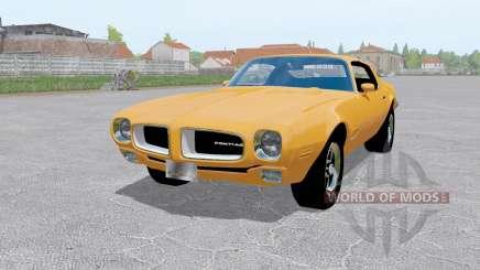 Pontiac Firebird (228-87) 1970 pour Farming Simulator 2017