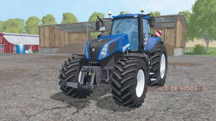 New Holland T8.420 animation parts pour Farming Simulator 2015