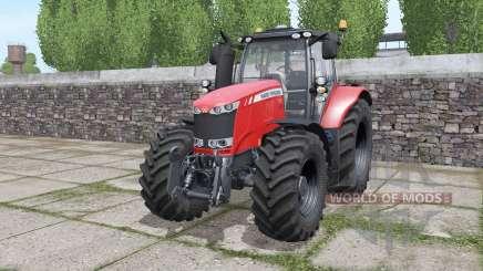 Massey Ferguson 7720 interactive control pour Farming Simulator 2017