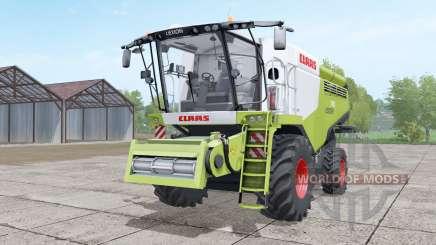 Claas Lexion 740 yellow-green pour Farming Simulator 2017