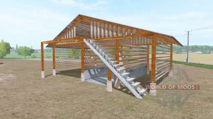 Wooden shed pour Farming Simulator 2017
