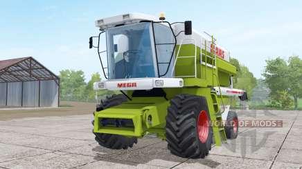 Claas Dominator 208 Mega wheels selection pour Farming Simulator 2017