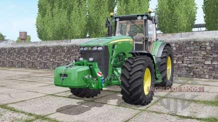 John Deere 8430 configure pour Farming Simulator 2017