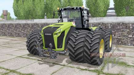 Claas Xerion 4500 Trac VC wheels selection pour Farming Simulator 2017