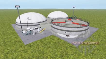 La production de biogaz v1.1 pour Farming Simulator 2017