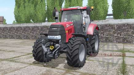 Case IH Puma 145 CVX configure pour Farming Simulator 2017