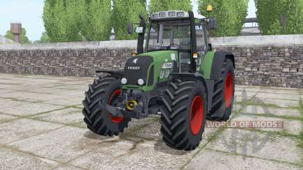 Fendt 820 Vario TMS løader møunting pour Farming Simulator 2017
