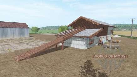 Dry Grass Storage pour Farming Simulator 2017