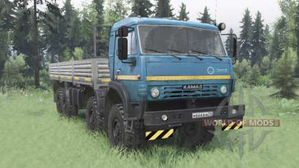 KamAZ 63501 Муƈтанг pour Spin Tires