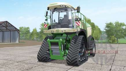 Krone BiG X 580 crawler pour Farming Simulator 2017