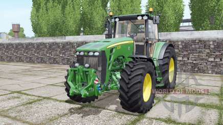 John Deere 8330 double wheels pour Farming Simulator 2017