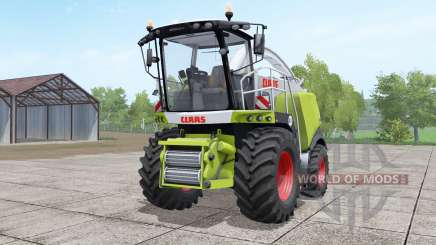 Claas Jaguar 960 green and white pour Farming Simulator 2017