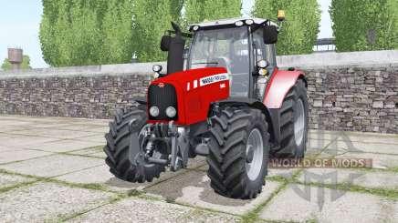 Massey Ferguson 5465 moving elements pour Farming Simulator 2017