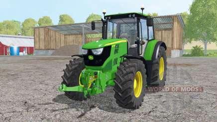 John Deere 6115M loader mounting für Farming Simulator 2015