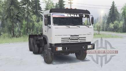 KamAZ 54115 6x6 v1.1 pour Spin Tires