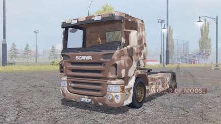 Scania R420 desert camo pour Farming Simulator 2013