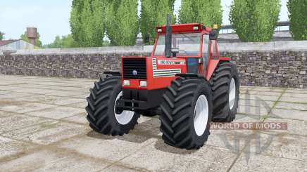 Fiat 180-90 Turbo wide tyre Michelin pour Farming Simulator 2017