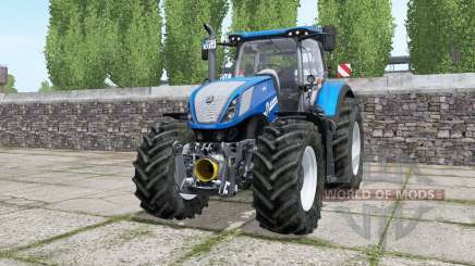 New Holland T7.315 wheels selection pour Farming Simulator 2017