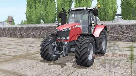 Massey Ferguson 6615 moving elements pour Farming Simulator 2017