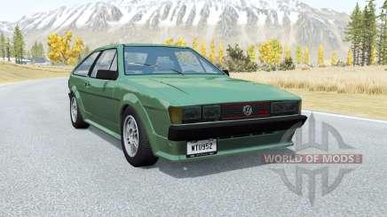 Volkswagen Scirocco GTX 1984 für BeamNG Drive
