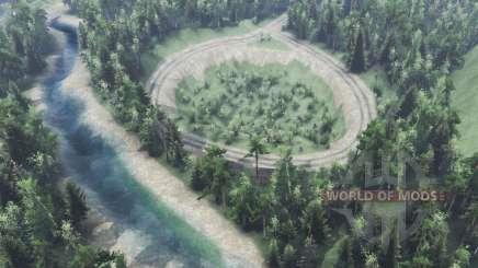 Der Fluss Niva für Spin Tires